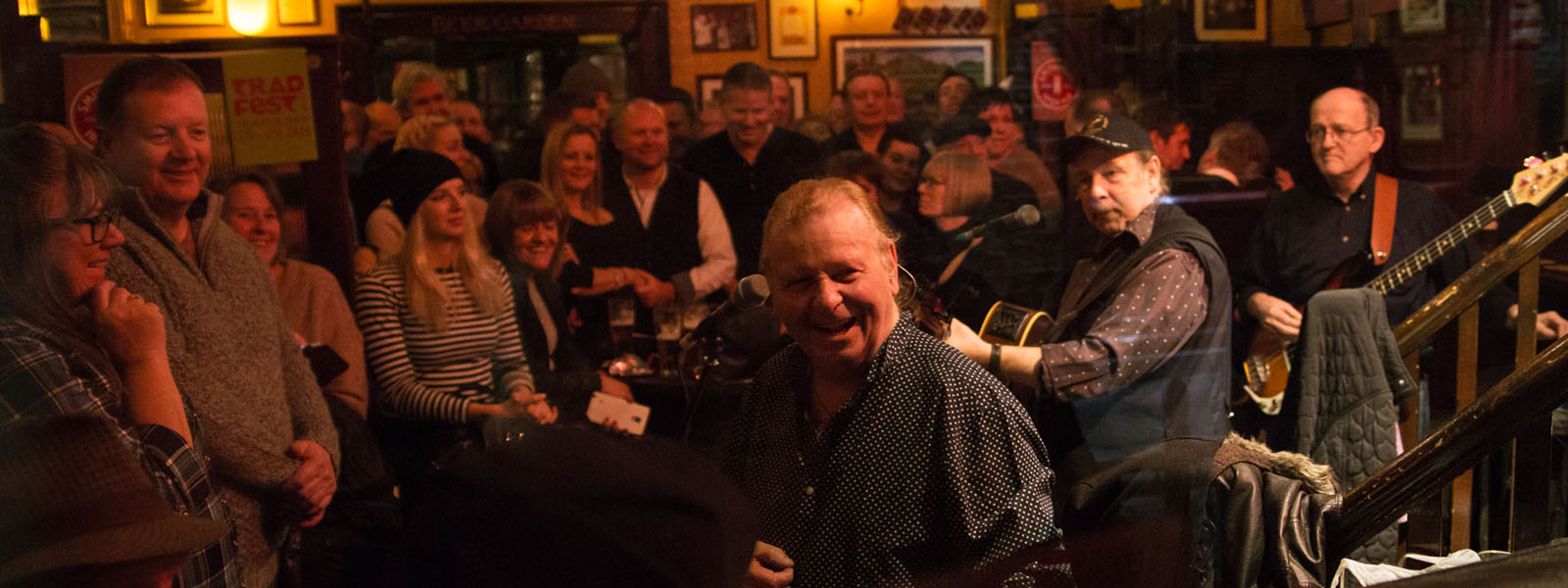 The Fureys TradFest Temple Bar 2017